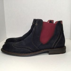 Lloyd suede boots. Made in Germany.